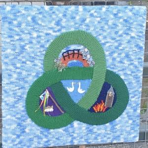 Knitted Link Laura Shirley, aka The Yarn Bomber