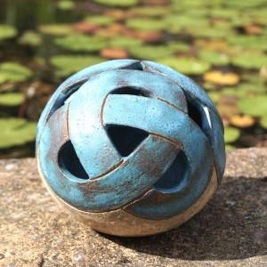 Ceramic Sphere Liz Bertram Gossan