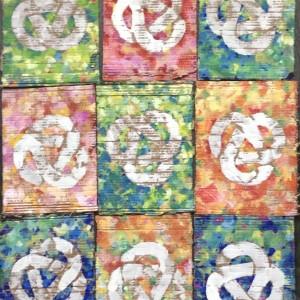 Biggarlinks Colour - Art on Cardboard