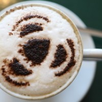 A Cappucino created by Ivan Stott at the Olive Tree - Image by Helen Barrington