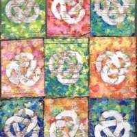 Biggar Links Colour - Art on Cardboard