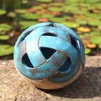 Ceramic Sphere - Liz Bertram Gossan