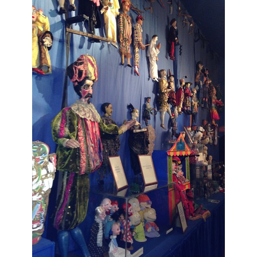 Puppetry Museum Tour at Biggar Puppet Theatre