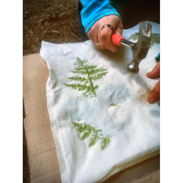 Hapa Zome Leaf Printing Workshop