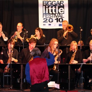 Biggar Big Band at the Municipal Hall