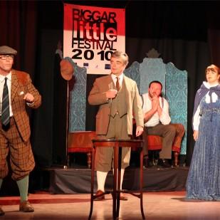 Theatrical performances at Biggar Corn Exchange