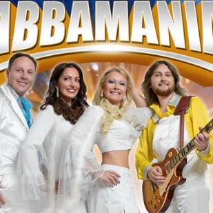 Abbamania at Biggar Little Festival 2016