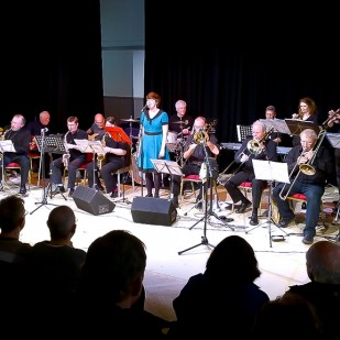Biggar Big Band at Biggar Little Festival 2014