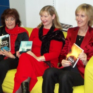 Lin Anderson, Alex Gray and Alanna Knight Author Event at BLF 2015