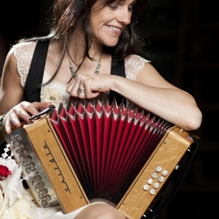 Sharon Shannon at Biggar Little Festival 2015
