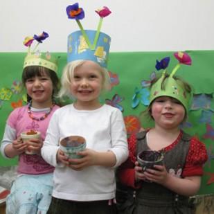 Children's craft workshops at Plaisir